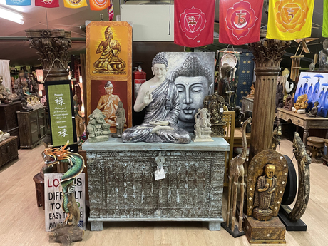 Happy Buddha  - Oosterse decoratie winkel